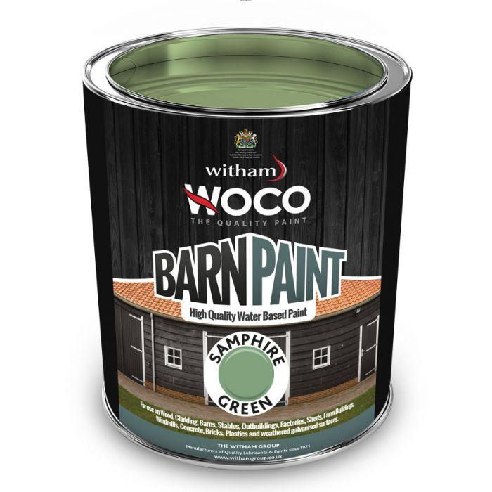 Barn Paint - Samphire Green