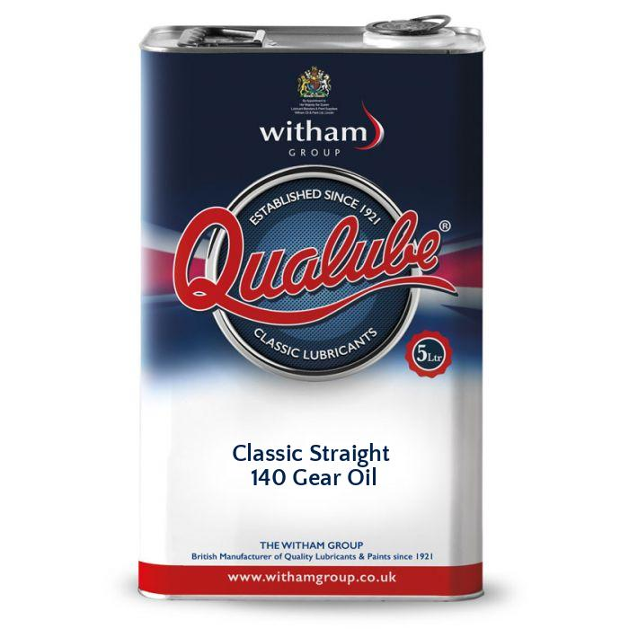 Qualube Classic Straight 140 Gear Oil