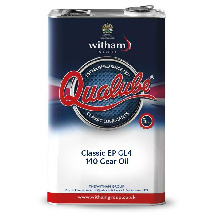 Qualube Classic EP GL4 140 Gear Oil