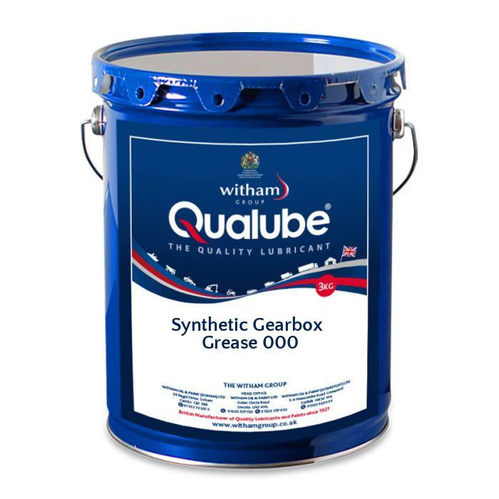 Qualube Synthetic Gearbox Grease 000