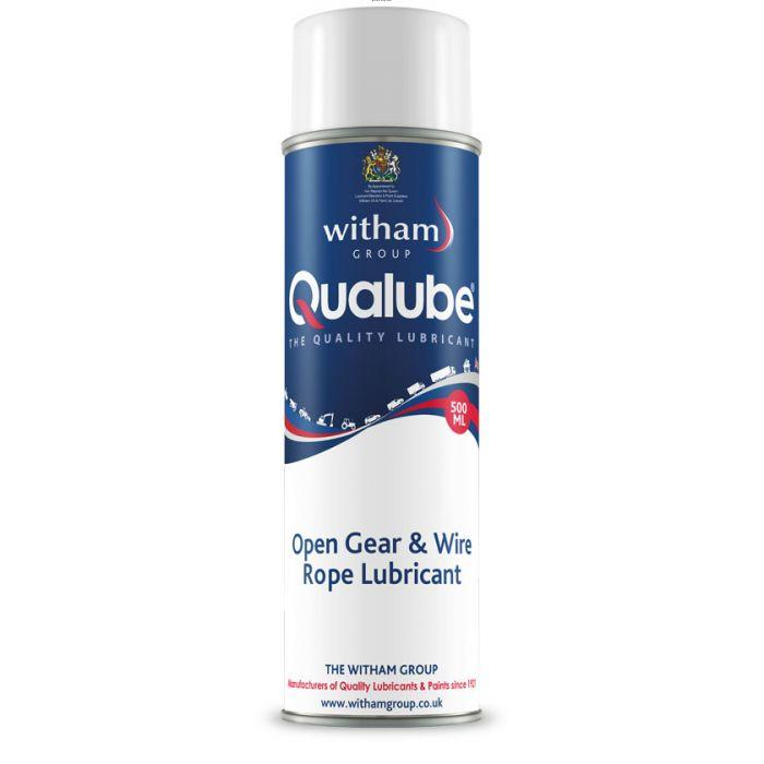 Qualube Open Gear/Wire Rope Lubricant