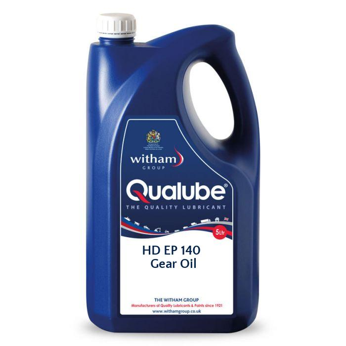 Qualube HD EP 140 Gear Oil