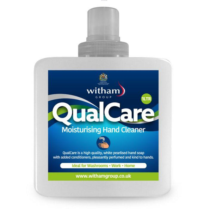QualCare Hand Cleaner Soap Bottle