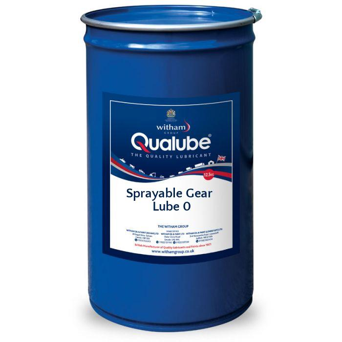 Qualube Sprayable Gear Lube 0