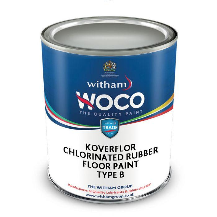 Koverflor Chlorinated Rubber Floor Paint - Type B