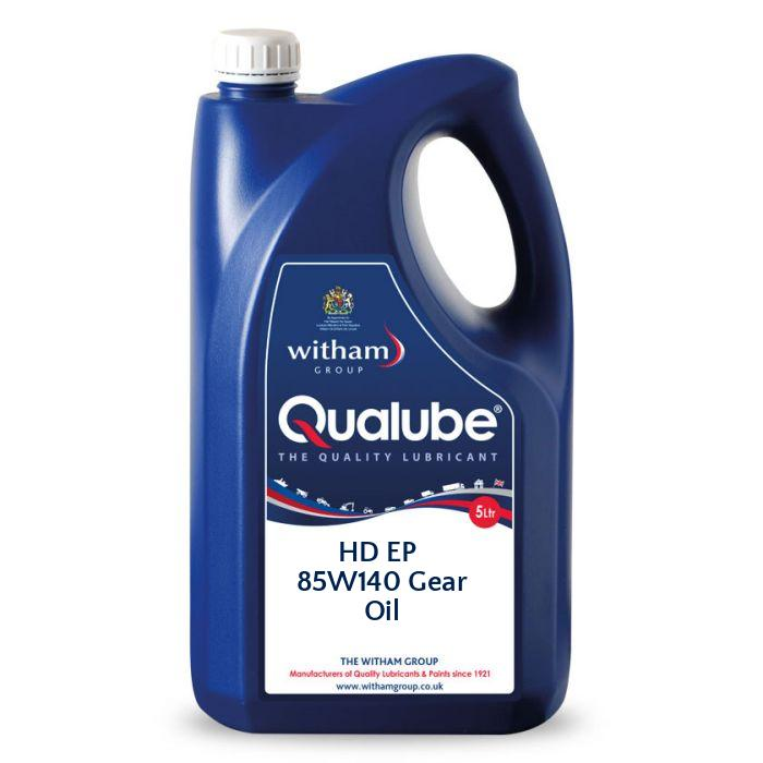 Qualube HD EP 85W140 Gear Oil