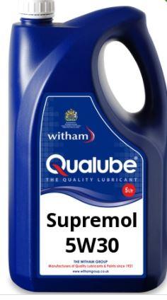 Witham Qualube Supremol 5W30