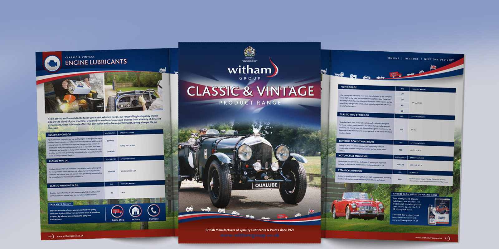 See Our Classic & Vintage Brochure