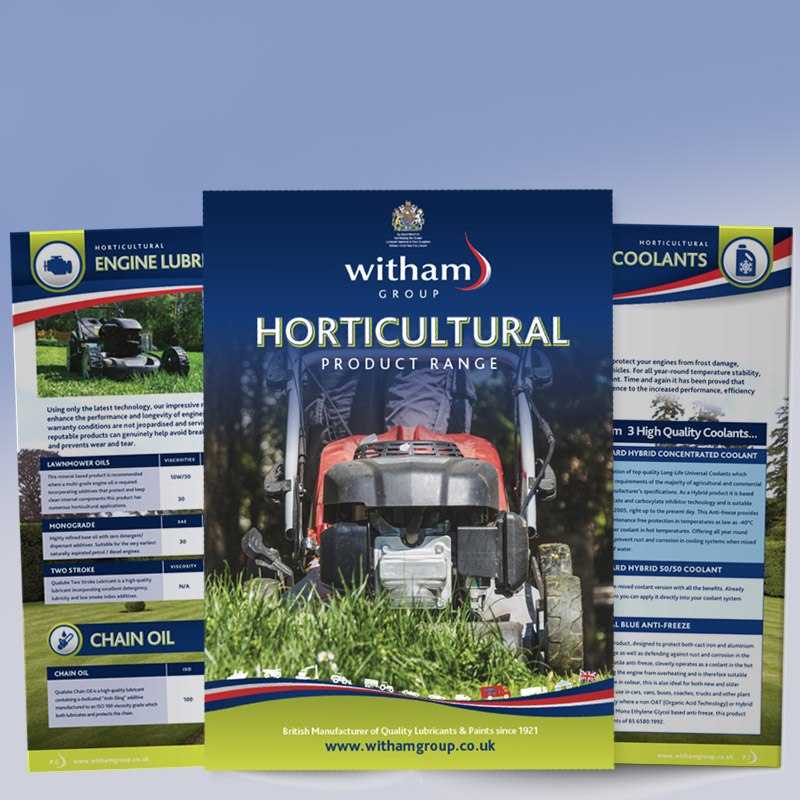 See Our Horticultural Brochure