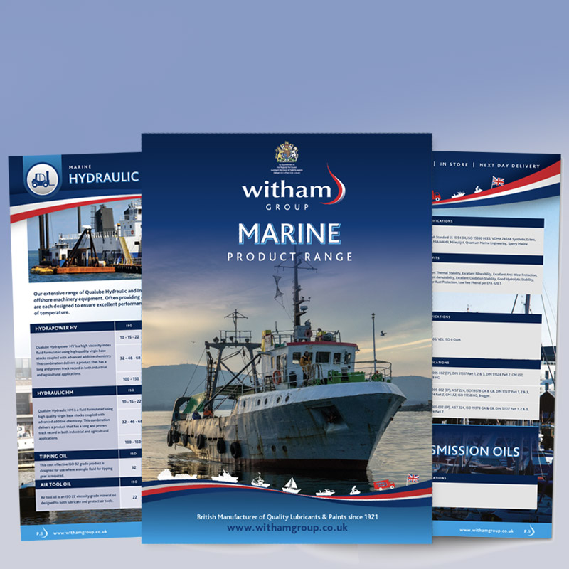 See Our Marine Brochure