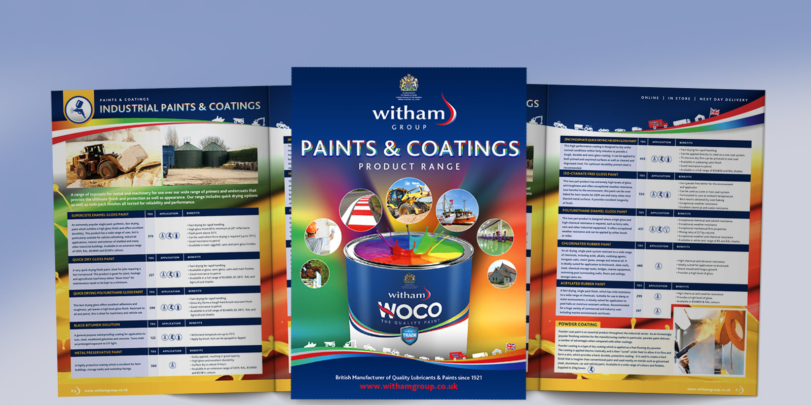 See Our Paints & Coatings Brochure