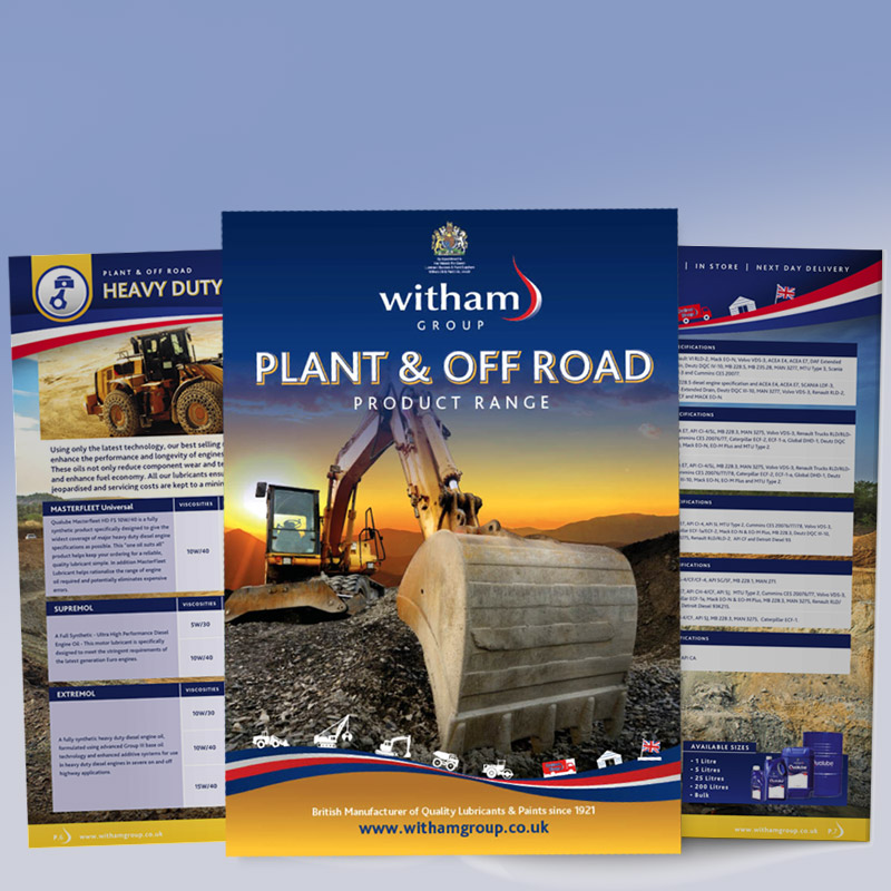 See Our Plant & Off Road Brochure