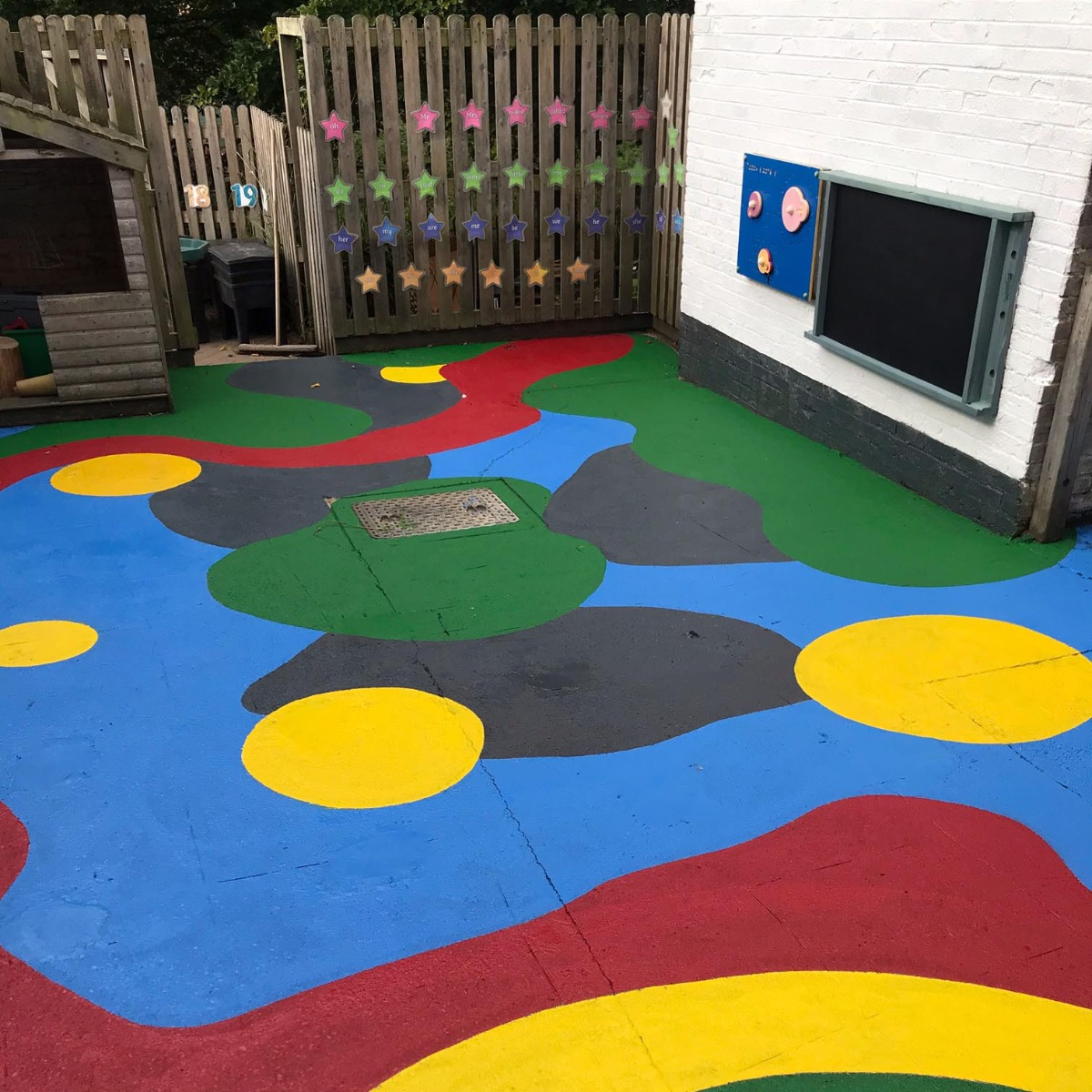 We've helped to brighten up Tealby School's playground