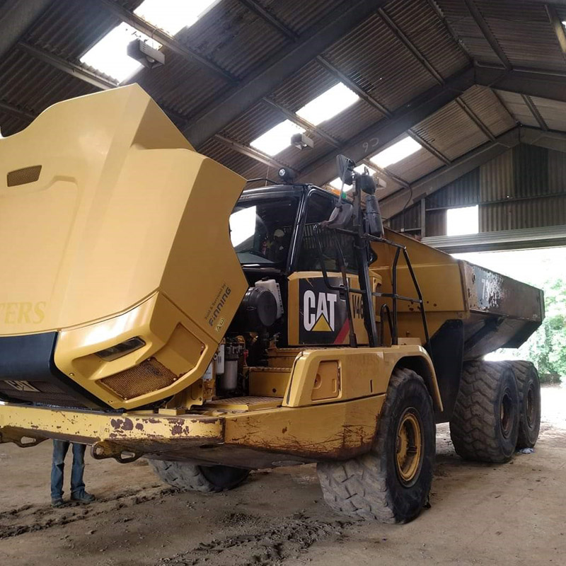 Qualube Eurofleet Oil Used By Plant Hire Firm