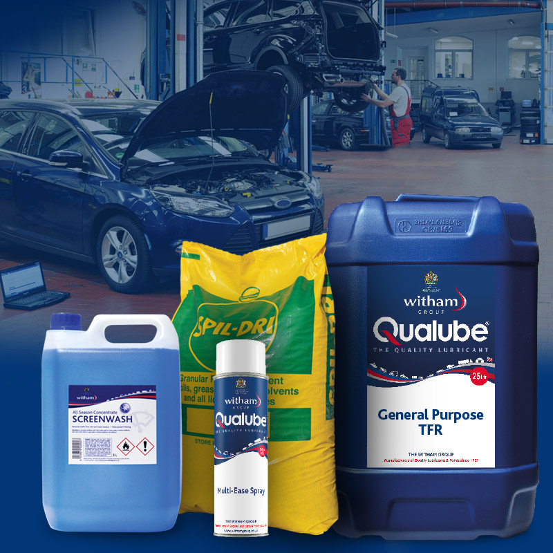 View Our Workshop & Cleaning Product Range